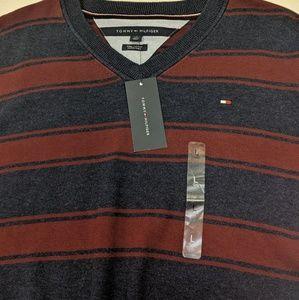 Tommy Hilfiger Stripe Sweater Size Large NWT